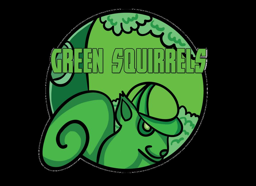 Green Squirrels by DemoniumAngel