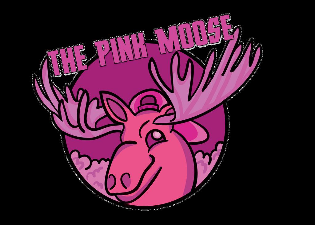 The Pink Moose by DemoniumAngel