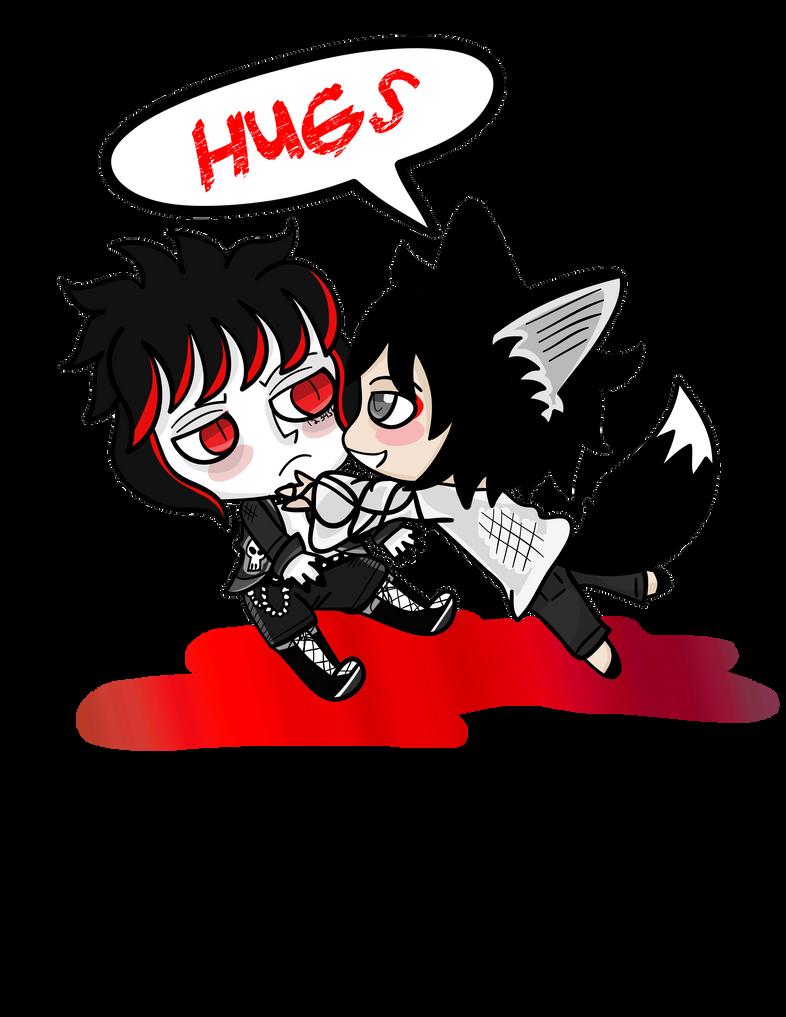 ThisIsYoshida Akira and Miro by DemoniumAngel