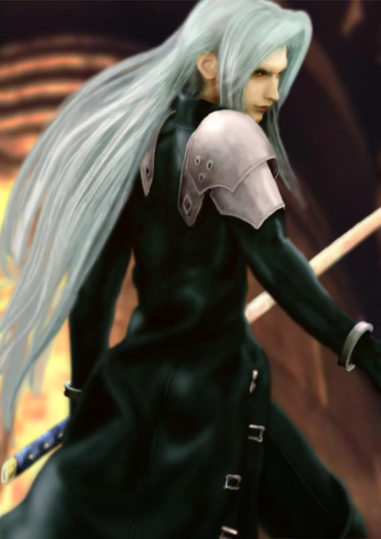 Sephiroth - Never a Memory by Lesleigh63