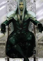 Sephiroth Enthroned by Lesleigh63