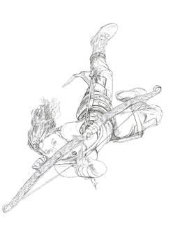 Lara sketch