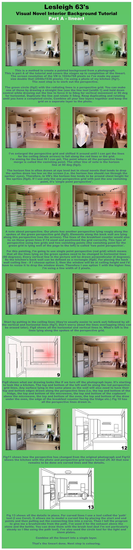 VN 2d background interior tutorial - Part A by Lesleigh63