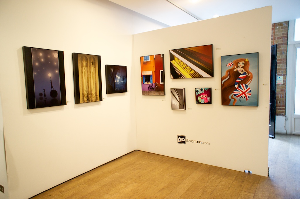 dA London Gallery Show 14 by cei-