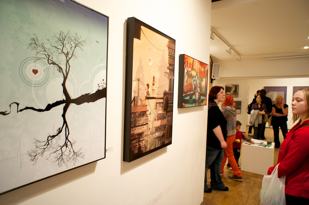 dA London Gallery Show 12 by cei-