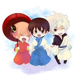 Happy Family -Gintama- by rox-chan