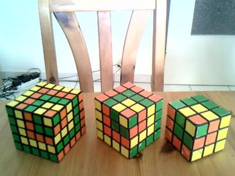 3 rubik's 1-2