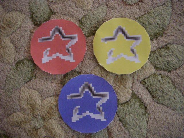 Super Mario64 Coins Papercraft by Vincentmrl
