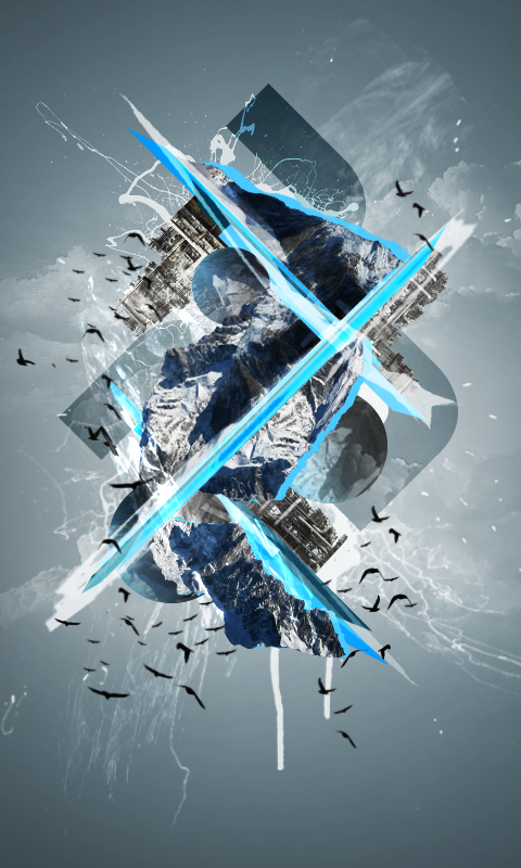 snowy abstract mobile hd wallpaper by dashie4president on