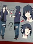Sasuke Road to Ninja Outfit