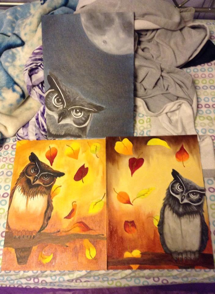 Owl Series by PurpleInsperation7