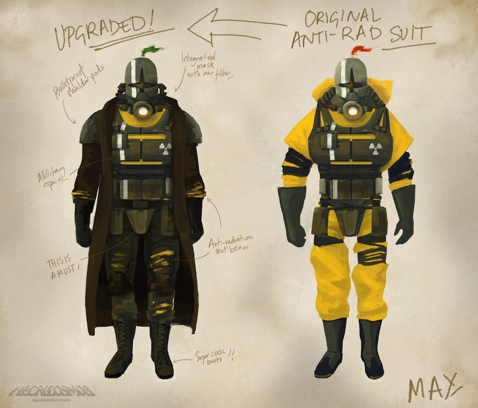 Anti-rad armor/suit by AnaSchatten