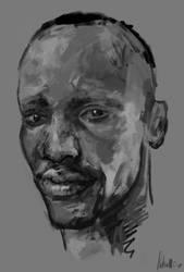 Fast portrait practice by AnaSchatten