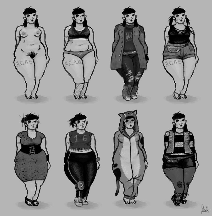Clothing study by AnaSchatten