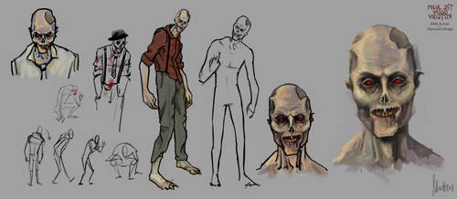 Eddie Scarpa - Character Design