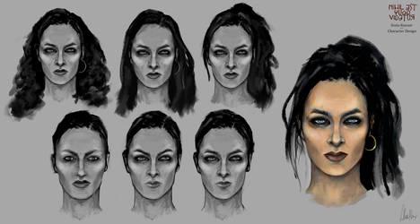 Sveta Razvan - Character Design