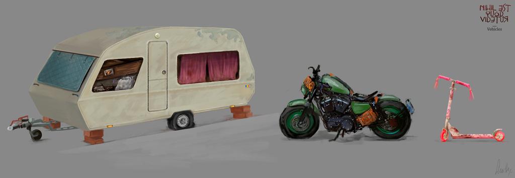 Vehicles by AnaSchatten