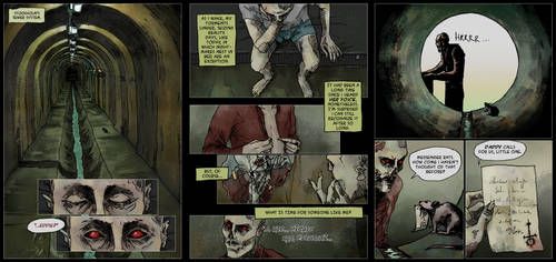 Nihil Est Quod Videtur Eddie's comic part ENG by AnaSchatten