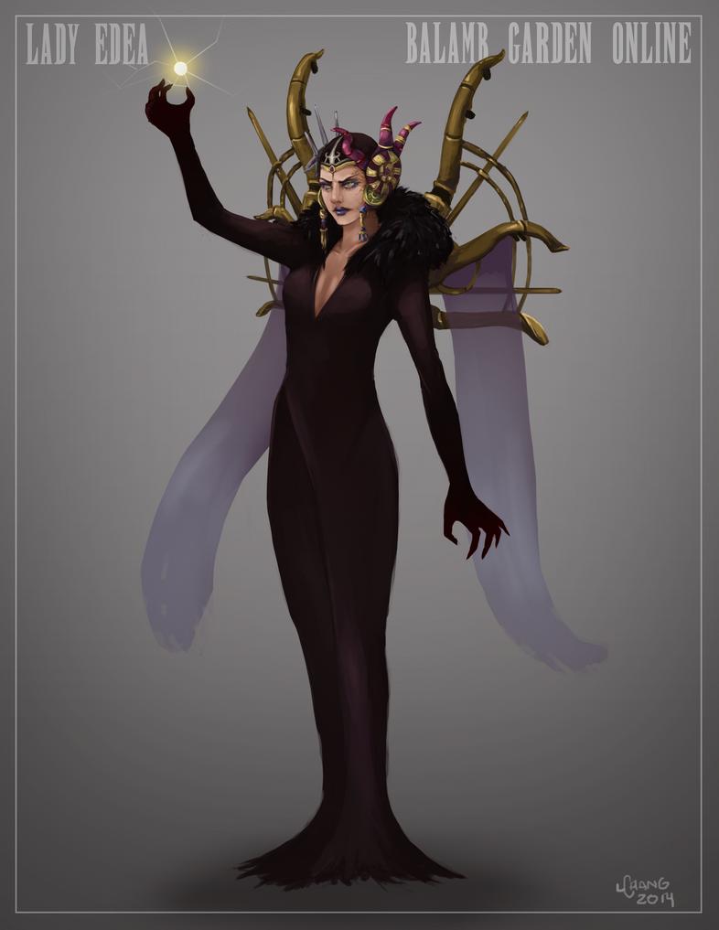Lady Edea, Sorceress by t0nkatsu