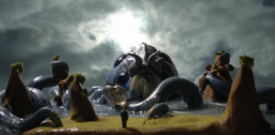 Water Colossus by Darkn355S1ay3r