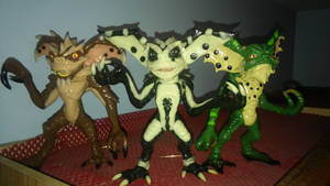 Series 1 Gremlins: King, Glow and Dragon
