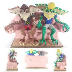Sculpey Beavis And Butthead Gremlins