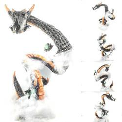 Super Sculpey Hallow Draco