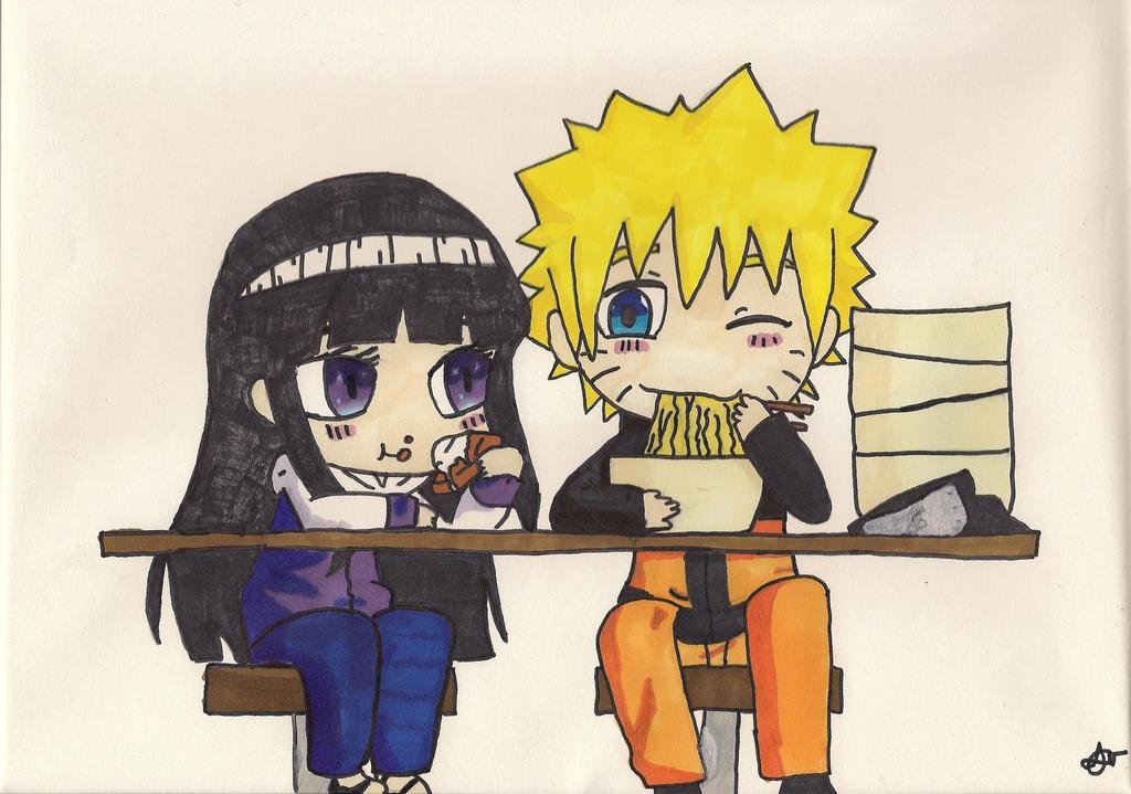Hinata and Naruto by Cartoon-Elfje