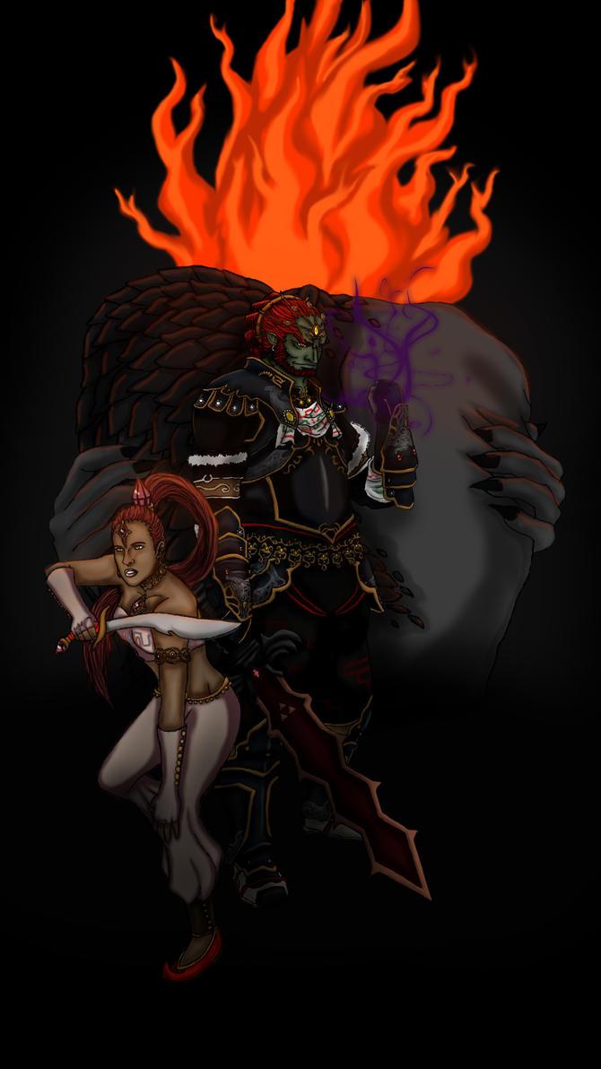 Demise  Ganondorf  and Nabooru by imacetra on DeviantArt