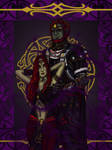 Ganon and Mel by imacetra