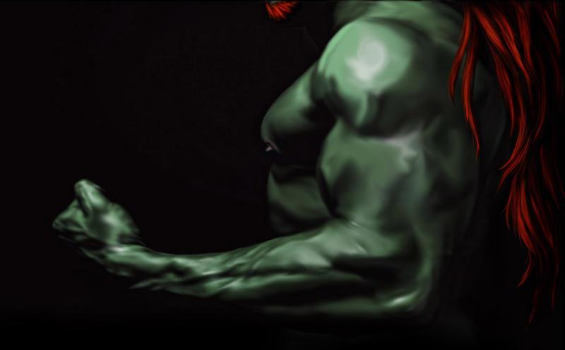 Shirtless Ganon by imacetra