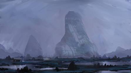 Rocks of many Faces by InterstellarDeej