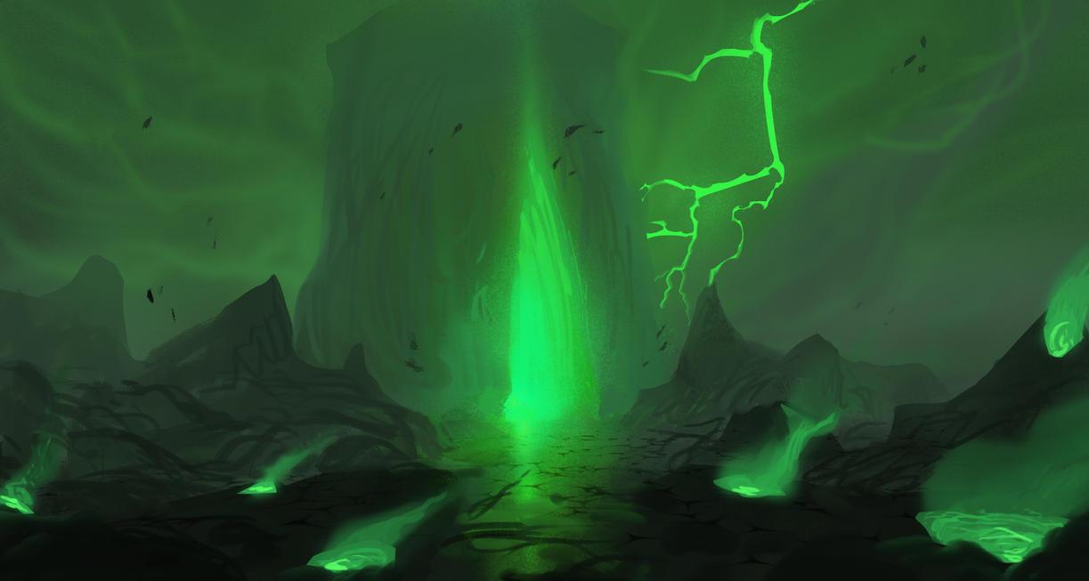 Evilscape by InterstellarDeej