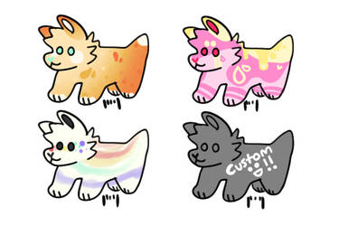 dog adopts [and a custom 1 lol] [open]