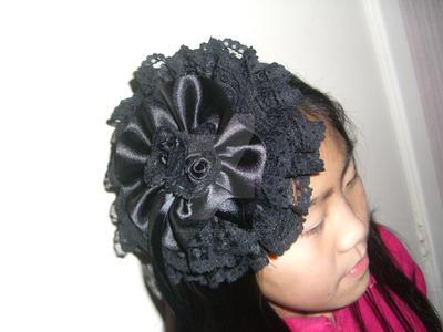 Gothic Lolita Round Headdress by FallenzAngel