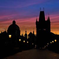 Prague night by AlexGutkin