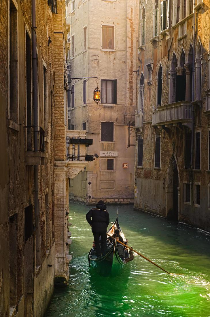 Venice canal by AlexGutkin
