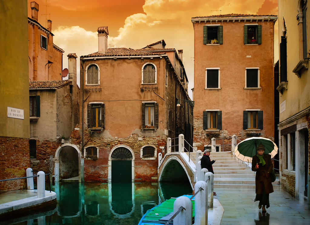 Gentle Venetian morning pict by AlexGutkin