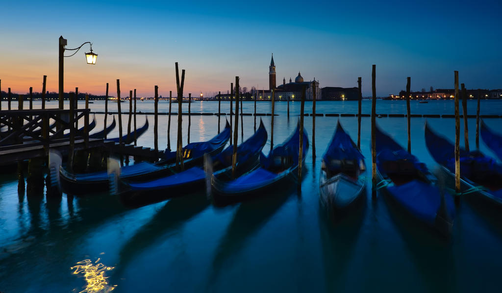Venice morning by AlexGutkin