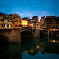 Ponte Vecchio at night by AlexGutkin
