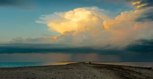 on the edge of the Crimea