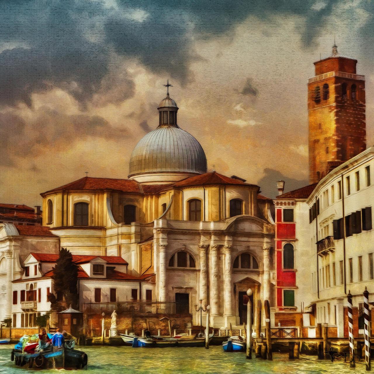 Venice Grand Canal by AlexGutkin