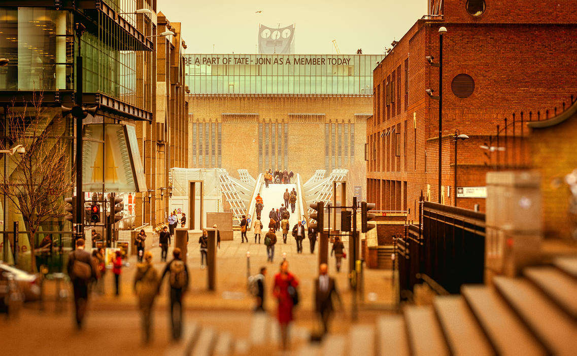 Millenium bridge by AlexGutkin
