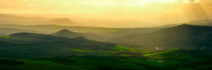 Panorama Toscana by AlexGutkin