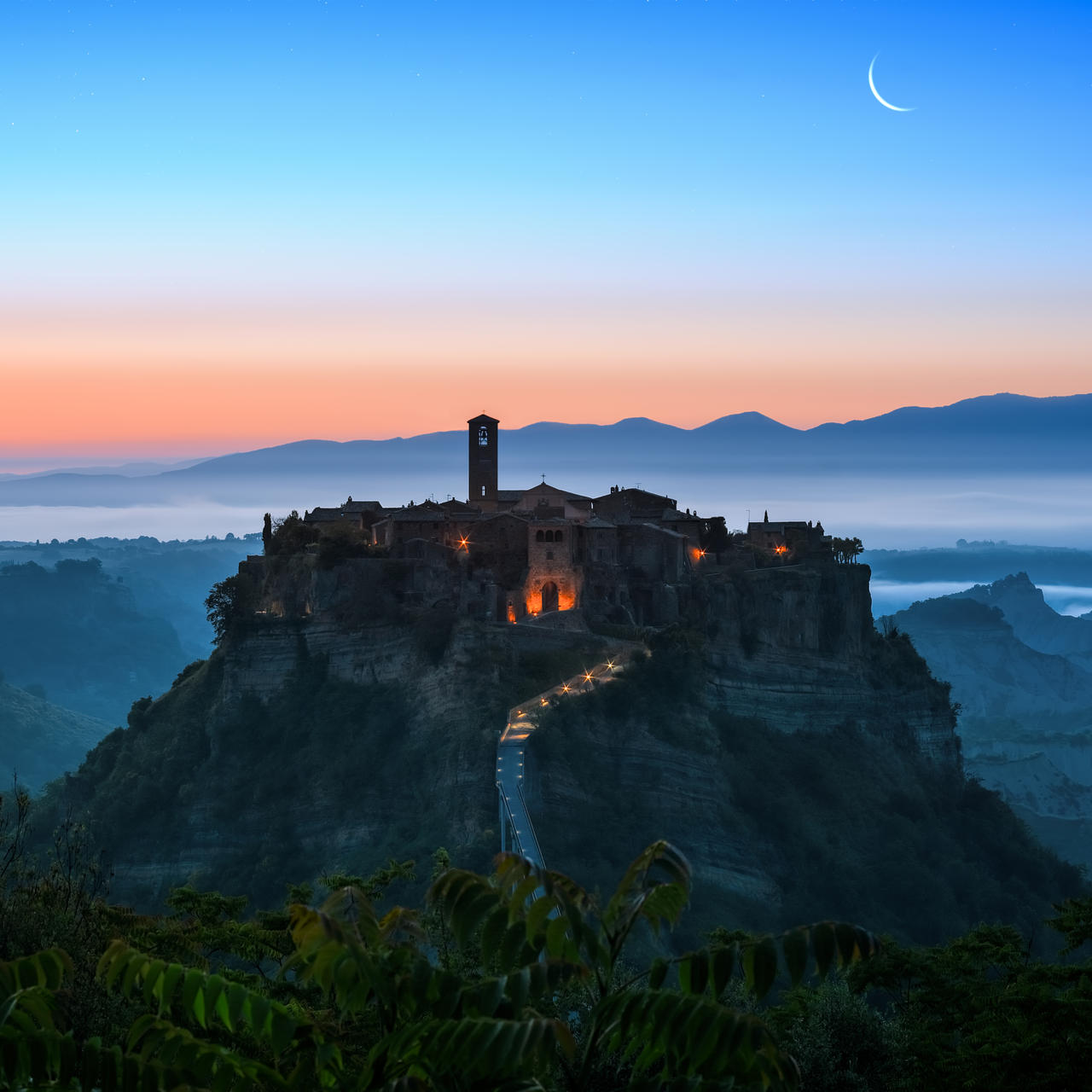 Civita di Bagnoregio by AlexGutkin on DeviantArt