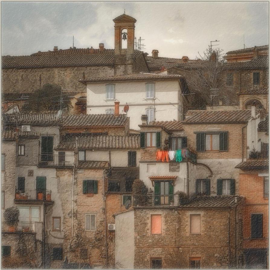 Montalcino by AlexGutkin