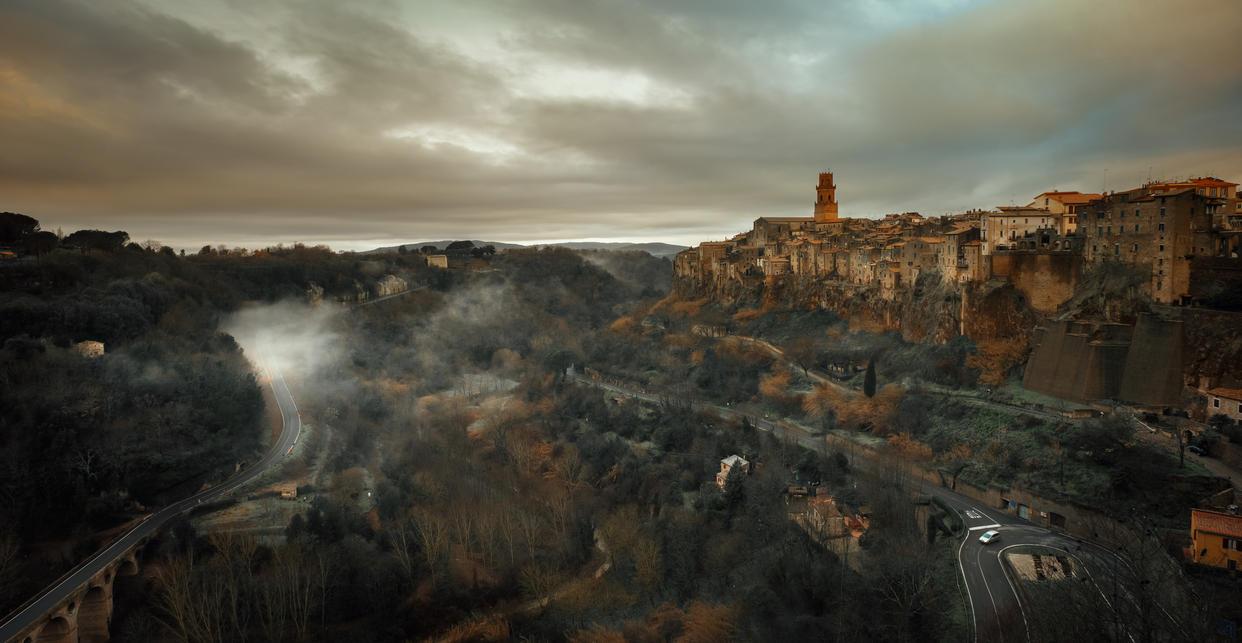 Pitigliano view by AlexGutkin