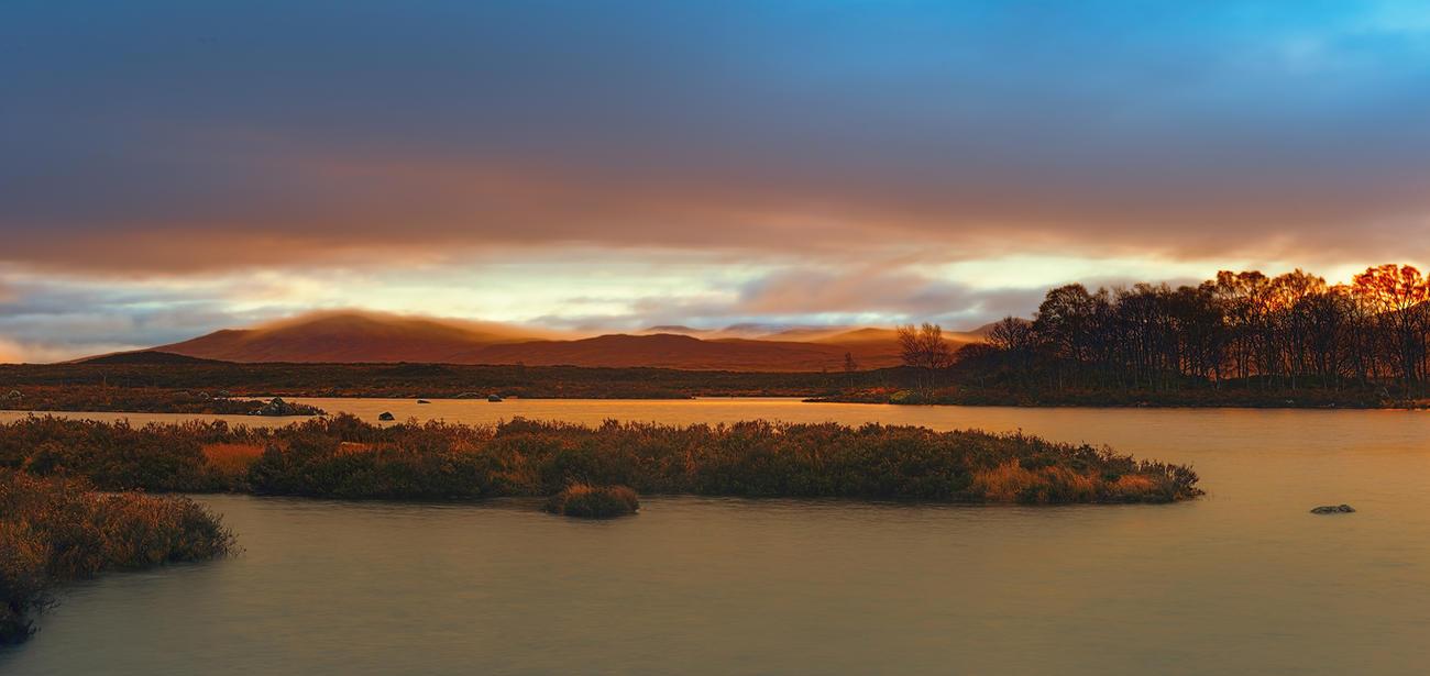 Scottish sunset by AlexGutkin