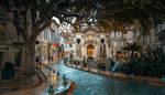 Avignon rain