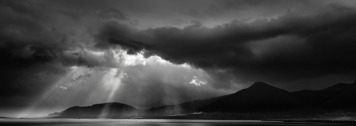 Iceland on BW by AlexGutkin